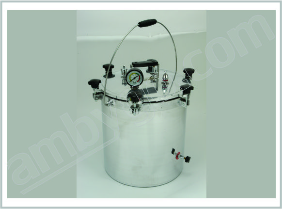 Portable Vertical Autoclave Single Drum Aluminum (Wingnut Type)