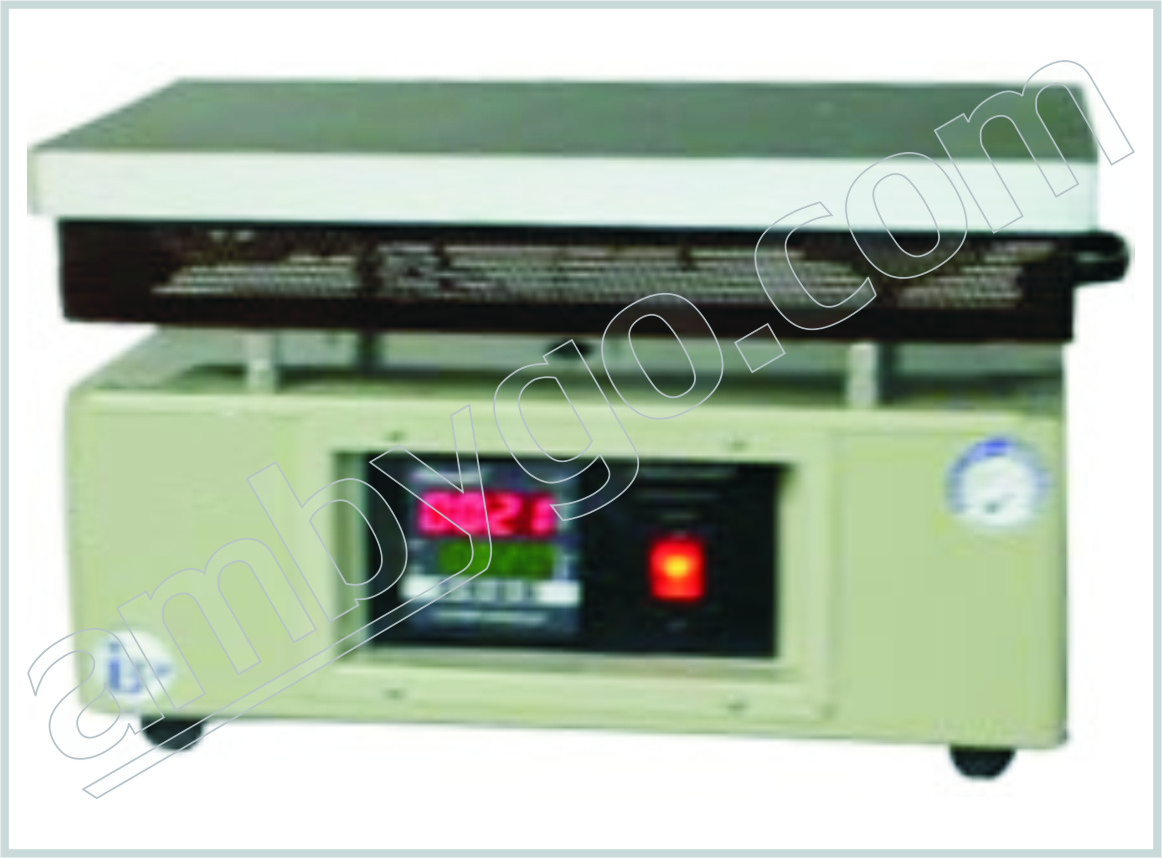 Laboratory Rectangular Heating Plate With Cast Iron Top