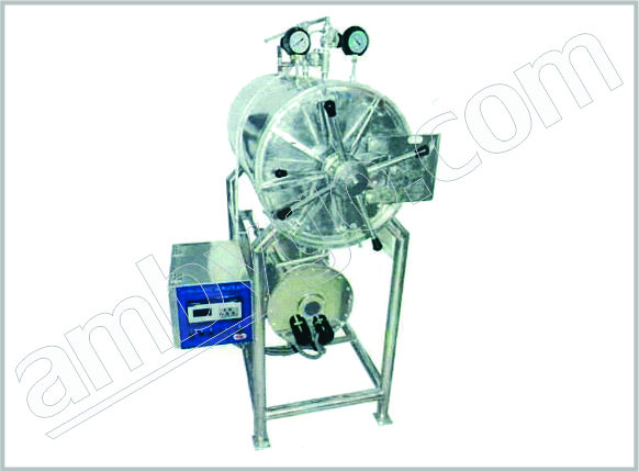 Horizontalcylindricalsterilizer Automatic Triple Walled Autoclave
