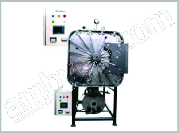 Horizontal Rectengular Sterilizer Automatic Triple Walled Autoclave
