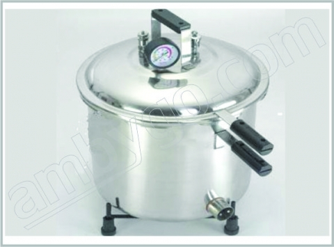 Portable Vertical Autoclave Stainless Steel Seamless